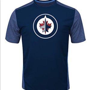 Winnipeg Jets Poly Screen Tee NWT 3XL